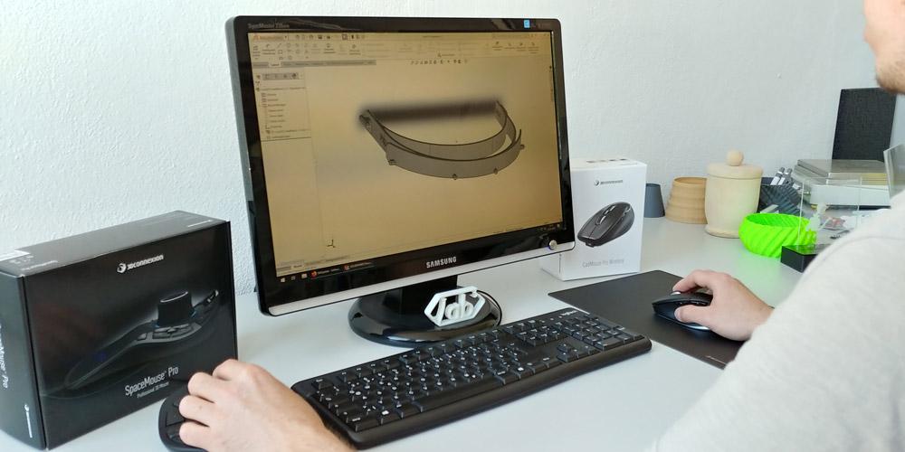 SOLIDWORKS 3D CAD Konstruktion