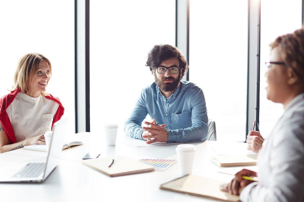 Meeting von Fachpersonal